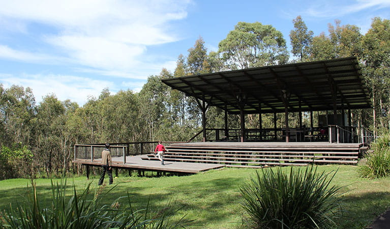 Fibrosa Pavillion, Rouse Hill Regional Park. Photo: John Yurasek