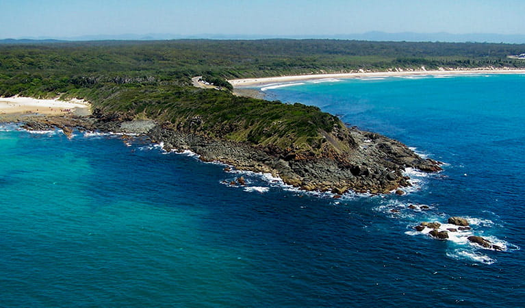 Saltwater headland, Saltwater National Park. Photo: Kevin Carter