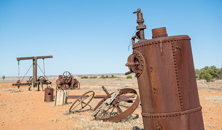 Outdoor Pastoral Museum, Sturt National Park. Photo: John Spencer