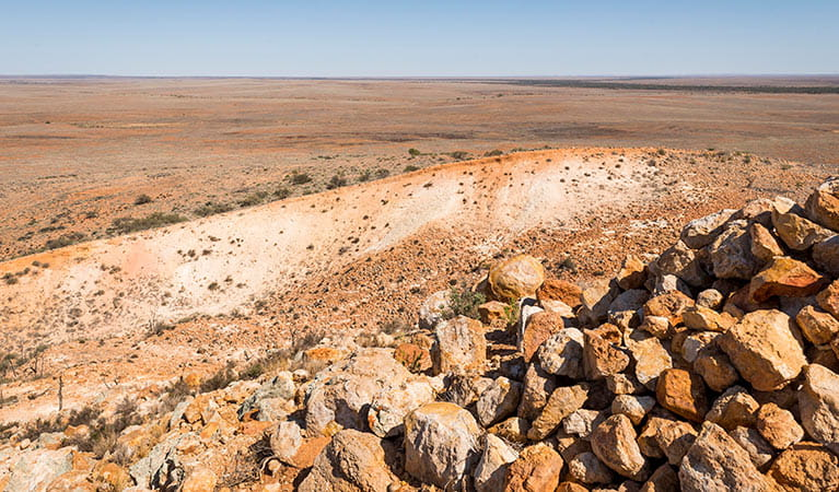Rocky hills in Sturt National Park. Photo: John Spencer