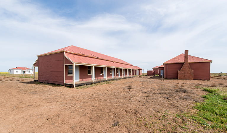 Shearers Quarters, Willandra National Park. Photo: John Spencer