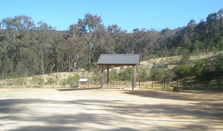 Tunnel Road picnic area, Woomargama National Park. Photo: D Pearce