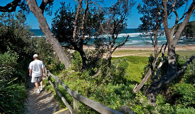 Bateau Bay picnic area, Wyrrabalong National Park. Photo: John Spencer