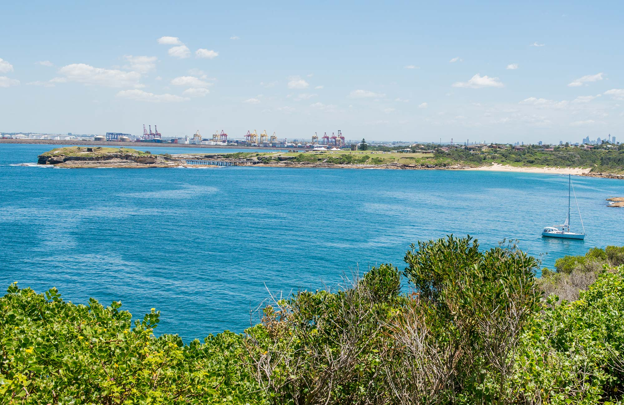 Henry Head walking track, Kamay Botany Bay National Park. Photo: John Spencer