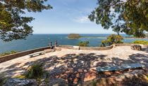 West Head lookout, Ku-ring-gai Chase National Park. Photo: David Finnegan