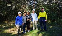 Volunteers from the Wyrrabalong Bushcare (Bateau Bay) group, Wyrrabalong National Park. Photo: Nigel Cooper © Nigel Cooper