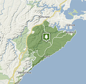 Royal National Park Map Royal National Park | Map | NSW National Parks