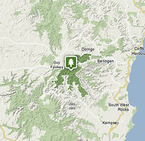 New England National Park | Map | NSW National Parks