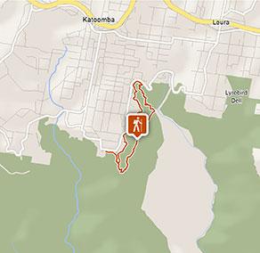 Dardanelles P loop walking track   Map   NSW National Parks on