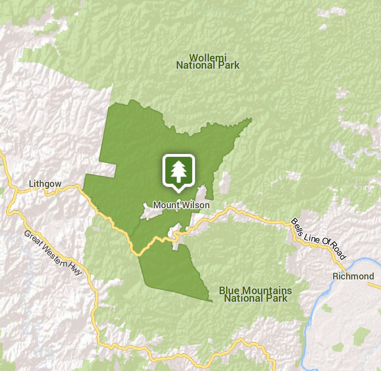 Mount Wilson area | Visitor info | NSW National Parks