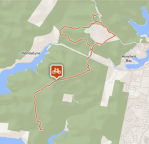 Tommos loop and Rocky Ponds cycling loop
