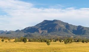 Golden Plains in Warrumbungle National Park, the heart of Country NSW. Photo: Rob Cleary