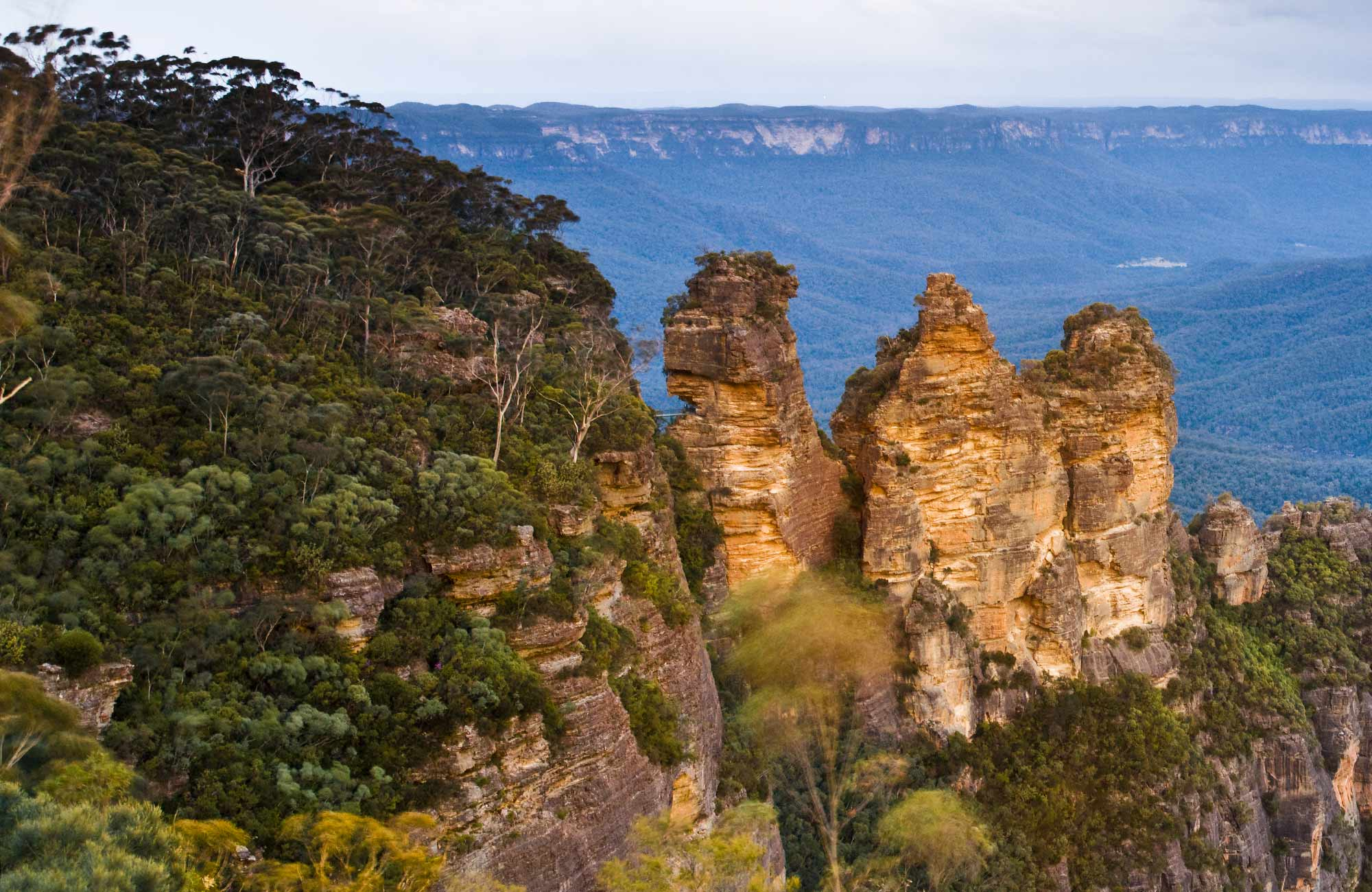Echo Point lookout, Blue Mountains National Park. Photo: David Finnegan