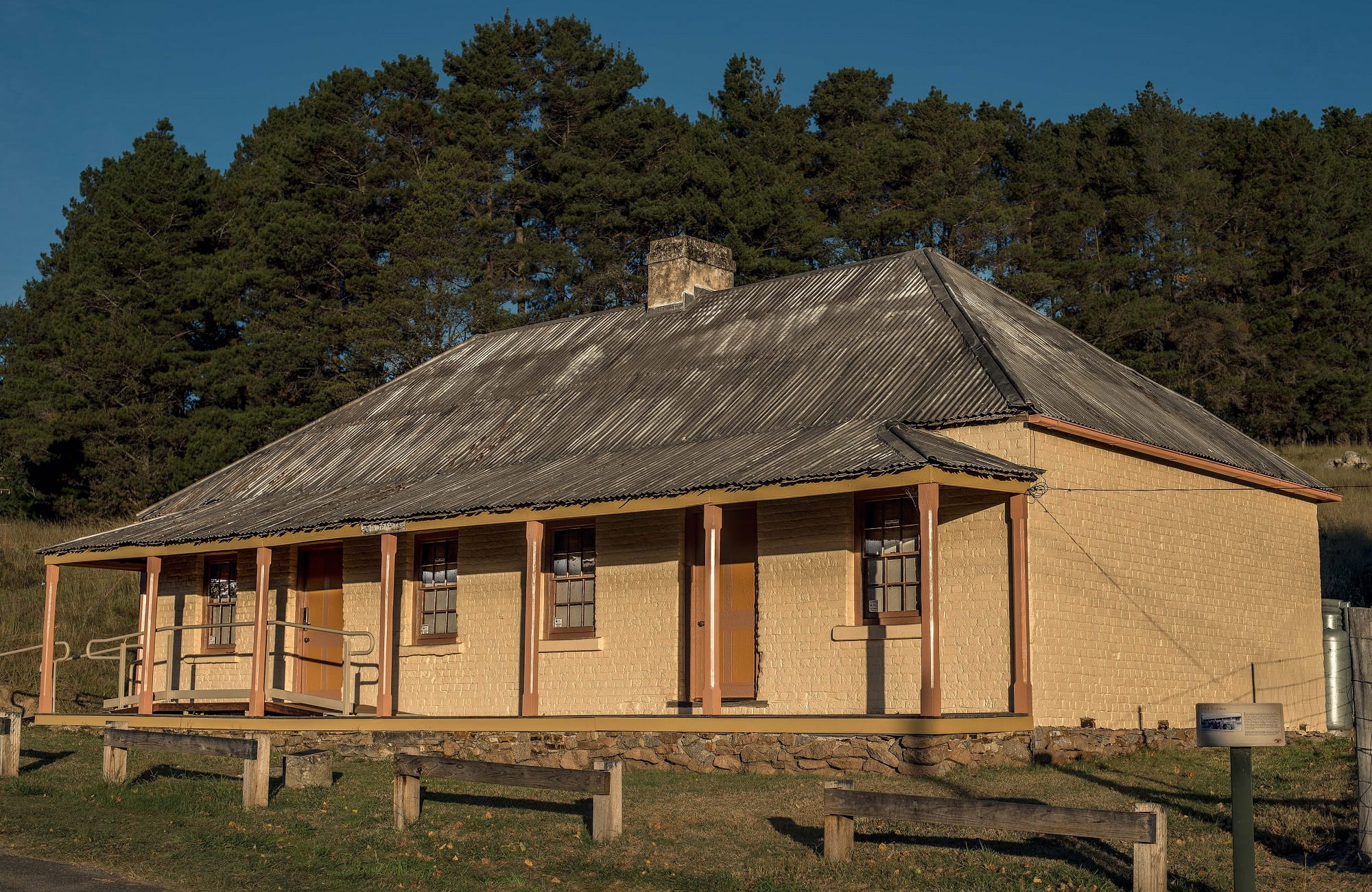Old Trahlee Cottage at Hartley Historic Site. Photo: David Hill, Deep Hill Media
