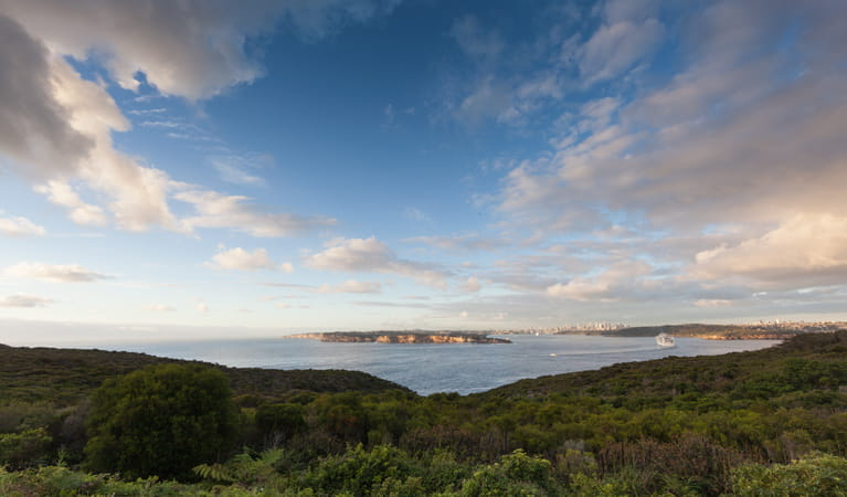 Photo of the view from North Head, Sydney Harbour National Park. Photo: David Finnegan