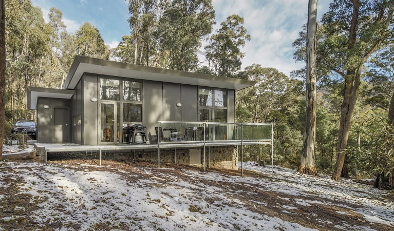 Lyrebird Cottage, Kosciuszko National Park. Photo: Murray Vanderveer