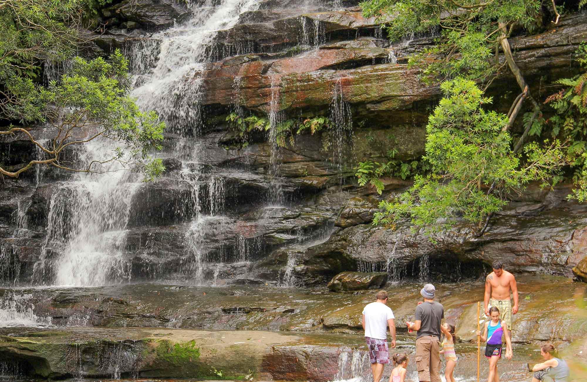 Somersby Falls Picnic Area Brisbane Water National Park Photo John Yurasek