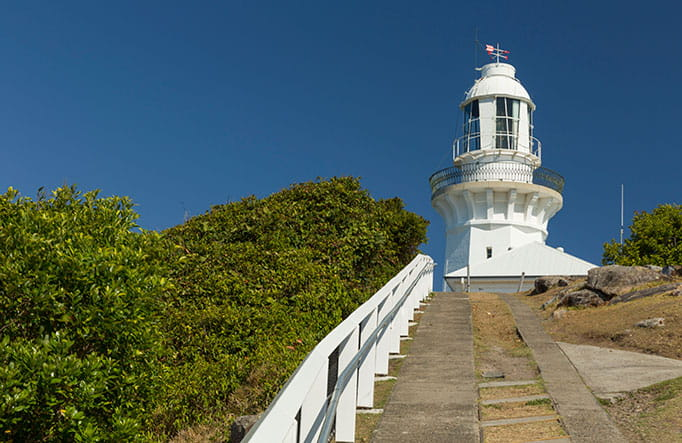 Smoky Cape lighthouse, Hat Head National Park. Photo: David Finnegan/OEH