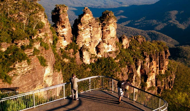 Echo Point, The Three Sisters, Blue Mountains National Park. Photo: Craig Marshall