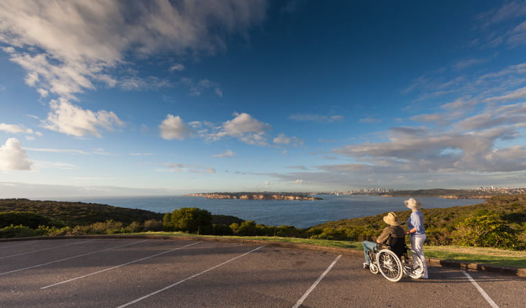 North Head lookout, Sydney Harbour National Park. Photo: David Finnegan