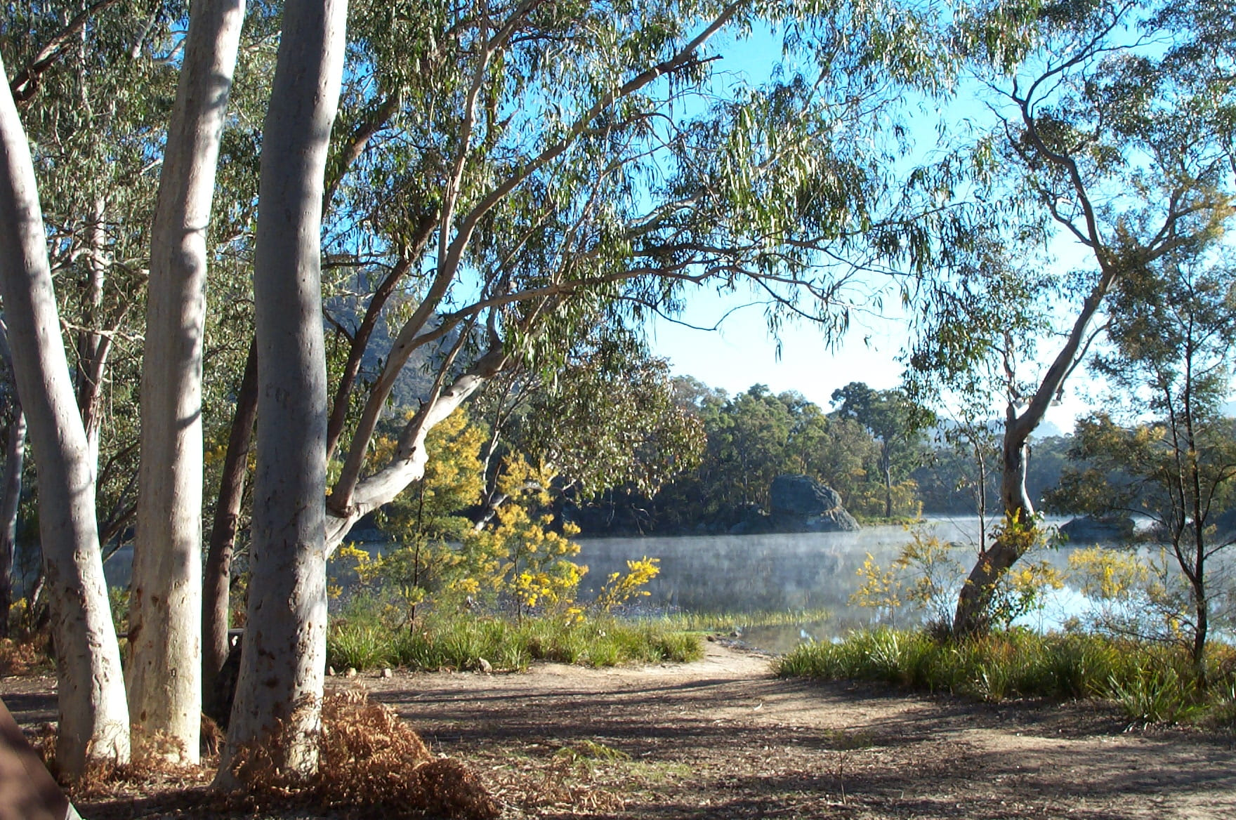 how to get to freshwater camping area