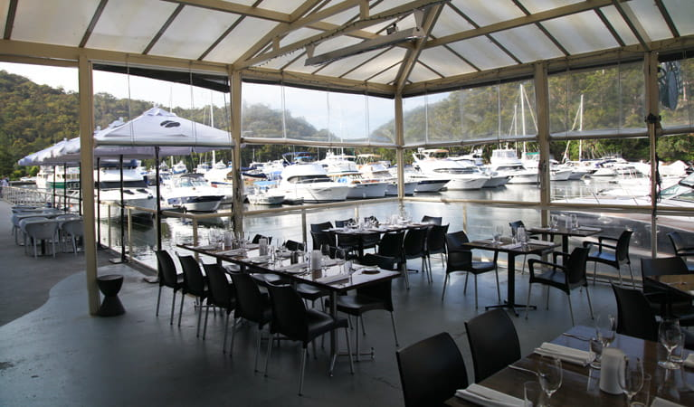 Galley Foods Restaurant, Ku-ring-gai Chase National Park. Photo: Andrew Richards