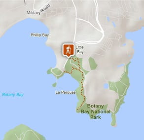 Map of Henry Head walking track, Kamay Botany Bay National Park. Photo: OEH