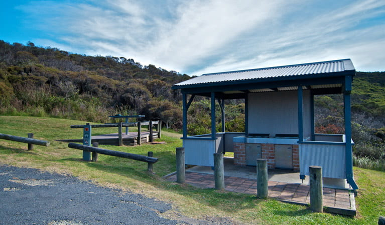 Frazer campground in Munmorah State Conservation Area. Photo: John Spencer