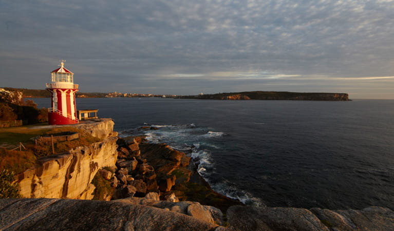 Lighthouse and South Head lookout, Sydney Harbour National Park. Photo: David Finnegan