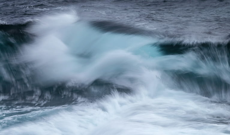 Waves. Photo:A Brown Copyright:NSW Government