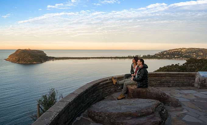 Views from West Head lookout in Ku-ring-gai Chase National Park. Photo: John Spencer/OEH