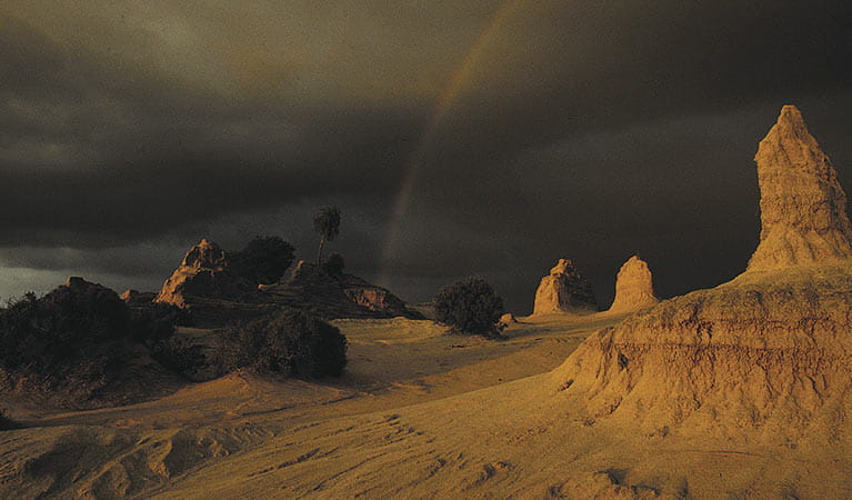 Lake Mungo in Mungo National Park. Photo: Philip Green/OEH