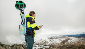Google Trekker, Kosciuszko National Park. Photo: John Spencer