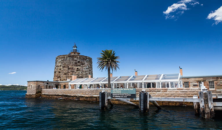Fort Denison, Sydney Harbour National Park. Photo: David Finnegan