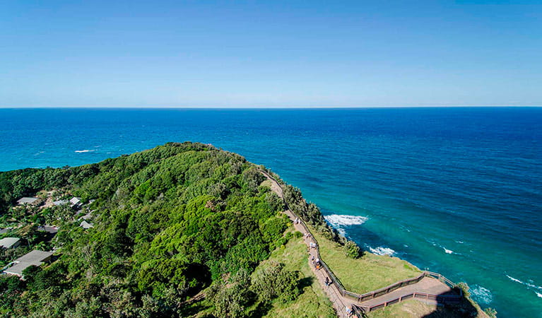 The Lighthouse Precinct, Cape Byron State Conservation Area. Photo: John Spencer