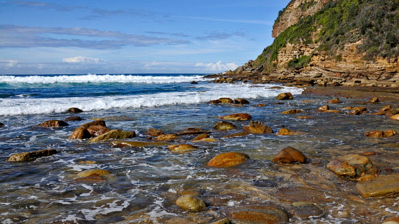 Little Beach Bouddi National Park Photo Kevin McGrath