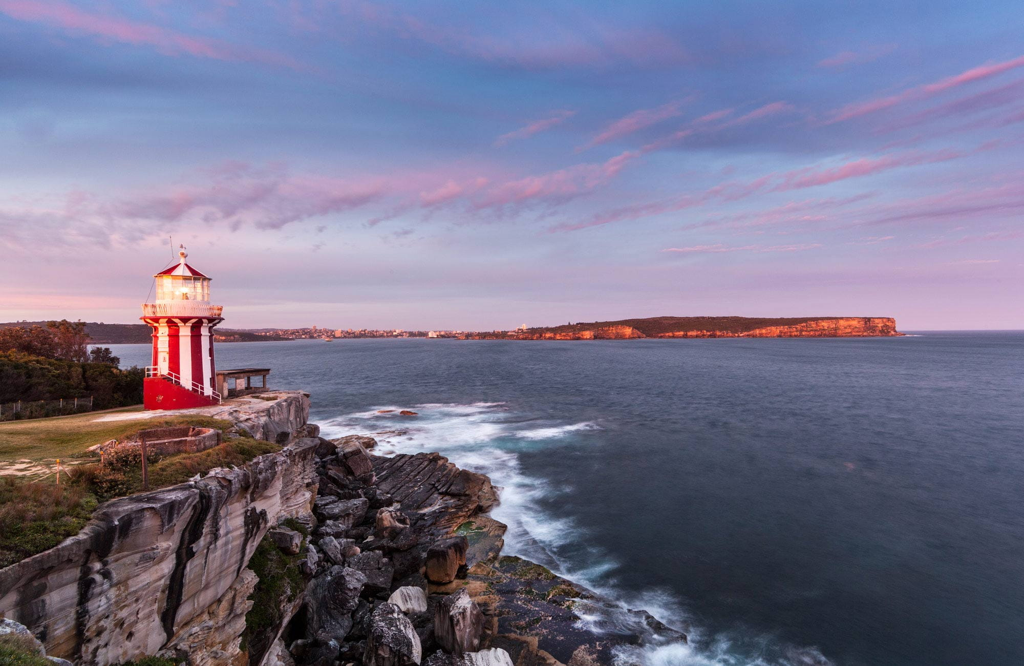 Hornby lighthouse and South Head. Photo: David Finnegan