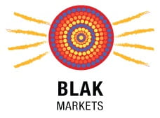 Blak markets logo. Photo: First hand solutions