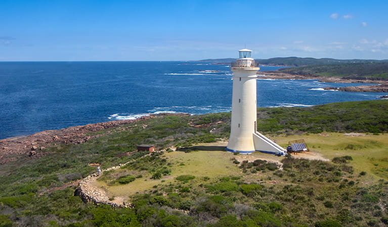 Fingal Island and Point Stephens lighthouse walk, Tomaree National Park. Photo:OEH/NSW Government