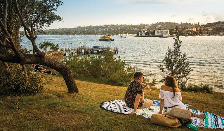 Shark Island picnic area, Sydney Harbour National Park. Photo: John Yurasek