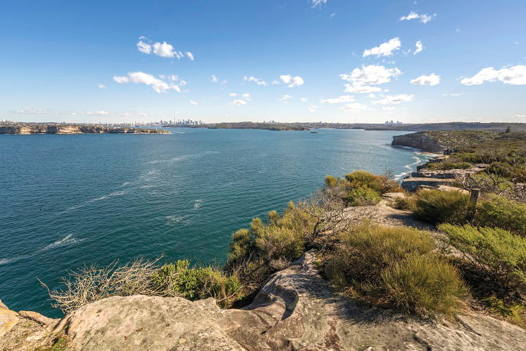 Views at North Head in Manly, Sydney Harbour National Park. Photo: John Spencer/OEH