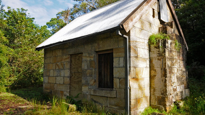 Historic cottages, Lane Cove National Park. Photo: Kevin McGrath