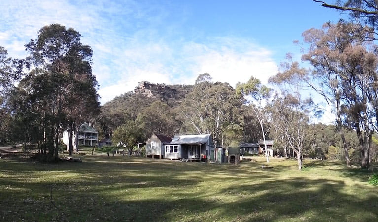 Private Town, Yerranderie Regional Park. Photo: David Egan/NSW Government