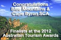Australian Tourism Awards finalists